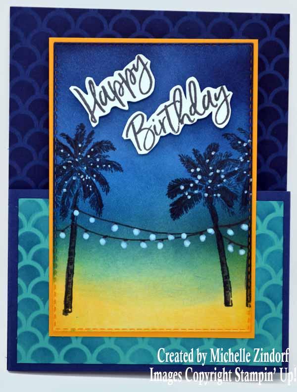 Tropical Dutch Door Card